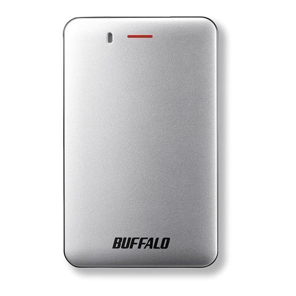 BUFFALO ポータブルSSD(240GB) シルバー SSD-PM240U3A-S [SSDPM240U3AS]