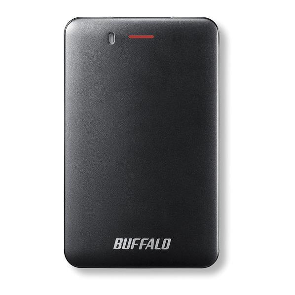 BUFFALO ポータブルSSD(480GB) ブラック SSD-PM480U3A-B [SSDPM480U3AB]