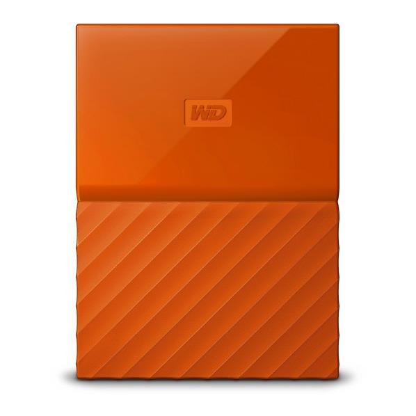 【送料無料】WESTERN DIGITAL ポータブルストレージ(2TB) My Passport(2018年発売モデル) オレンジ WDBS4B0020BOR-JESN [WDBS4B0020BORJESN]【KK9N0D18P】