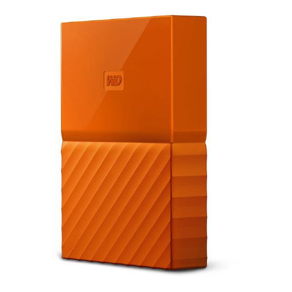 WESTERN DIGITAL ポータブルストレージ(4TB) My Passport(2018年発売モデル) オレンジ WDBYFT0040BOR-JESN [WDBYFT0040BORJESN]
