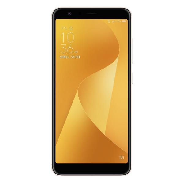 ASUS SIMフリースマートフォン ZenFone Max Plus M1 サンライトゴールド ZB570TL-GD32S4 [ZB570TLGD32S4]