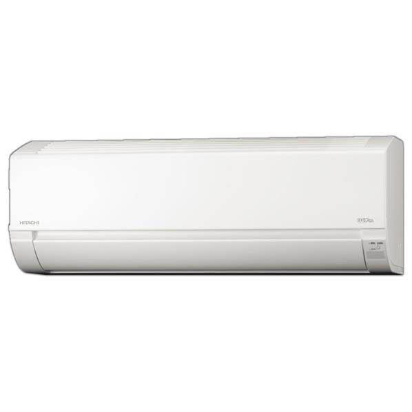 【標準設置工事費込み】日立 8畳向け 冷暖房インバーターエアコン KuaL 白くまくん スターホワイト RASL25HE6WS [RASL25HE6WS]【RNH】