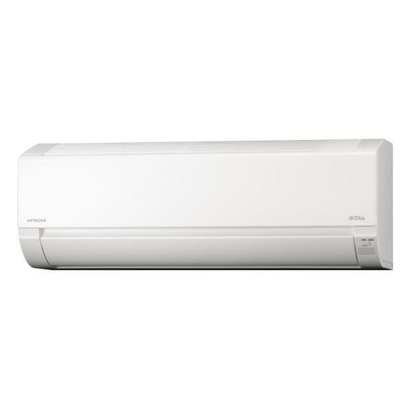 【標準設置工事費込み】日立 18畳向け 冷暖房インバーターエアコン KuaL 白くまくん スターホワイト RASL56H2E6WS [RASL56H2E6WS]【RNH】