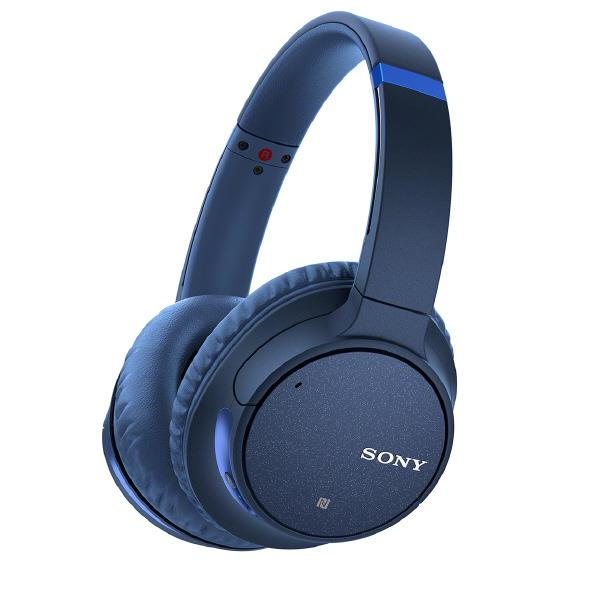 SONY ワイヤレス ノイズキャンセリング ステレオヘッドセット ブルー WH-CH700N L [WHCH700NL]【RNH】