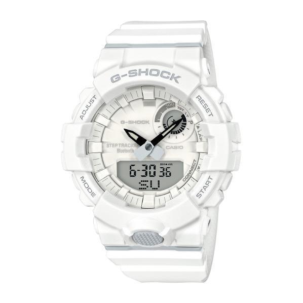 カシオ 腕時計 G-SHOCK G-SQUAD ホワイト GBA-800-7AJF [GBA8007AJF]