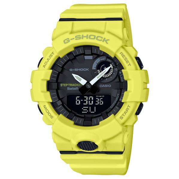 カシオ 腕時計 G-SHOCK イエロー GBA-800-9AJF [GBA8009AJF]