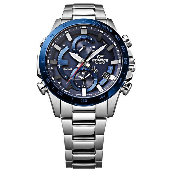 カシオ 腕時計 EDIFICE ブルー EQB-900DB-2AJF [EQB900DB2AJF]