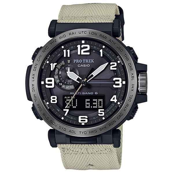 5182332df6 【送料無料】カシオ ソーラー電波腕時計 PRO TREK PRW-6600YBE-5JR [PRW6600YBE5JR] 取り扱う通販