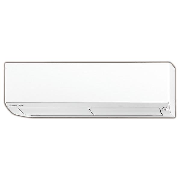 【標準設置工事費込み】三菱 10畳向け 自動お掃除付き 冷暖房インバーターエアコン KuaL ウエーブホワイト MSZ-EX2818E6-Wセット [MSZEX2818E6WS]【RNH】