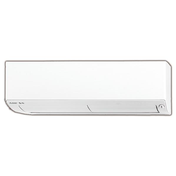【標準設置工事費込み】三菱 18畳向け 自動お掃除付き 冷暖房インバーターエアコン KuaL ウエーブホワイト MSZ-EX5618E6S-Wセット [MSZEX5618E6SWS]【RNH】