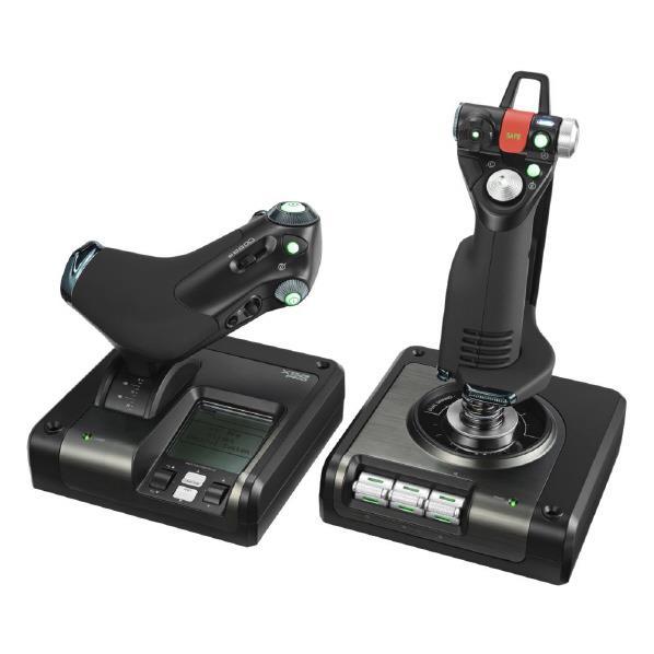 ロジクール シミュレーションコントローラ X52 PROFESSIONAL HOTAS ブラック G-X52P [GX52P]