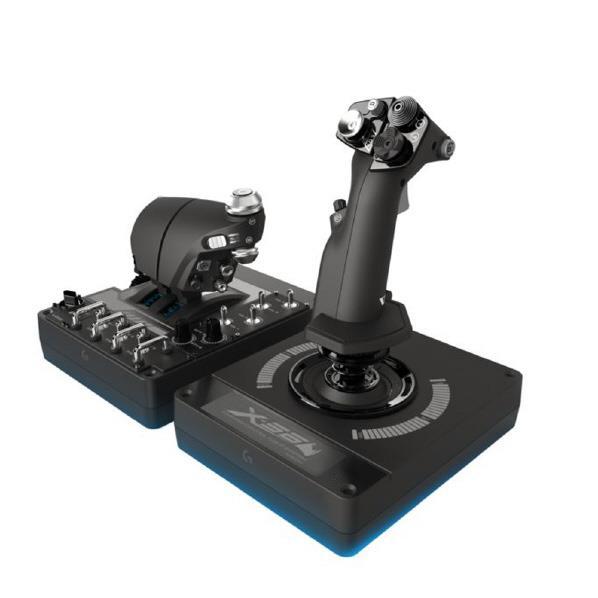 【送料無料】ロジクール シミュレーションコントローラ X56 HOTAS ブラック G-X56R [GX56R]