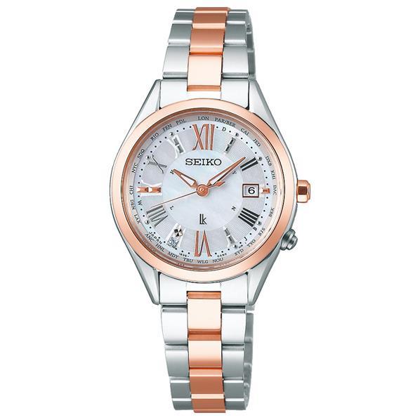 セイコーウォッチ ソーラー電波腕時計 ルキア Lady Diamond SSQV040 [SSQV040]