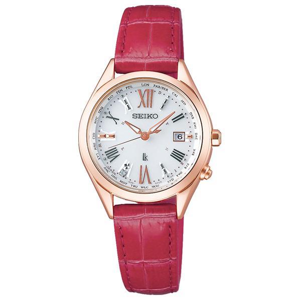 セイコーウォッチ ソーラー電波腕時計 ルキア Lady Diamond SSQV042 [SSQV042]