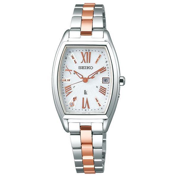 セイコーウォッチ ソーラー電波腕時計 ルキア Lady Diamond SSVW117 [SSVW117]