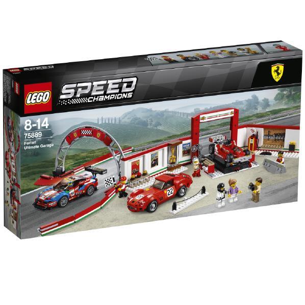 レゴジャパン LEGO スピードチャンピオン 75889 フェラーリ・アルティメット・ガレージ 75889フエラ-リアルテイメツトガレ-ジ [75889フエラ-リアルテイメツトガレ-ジ]