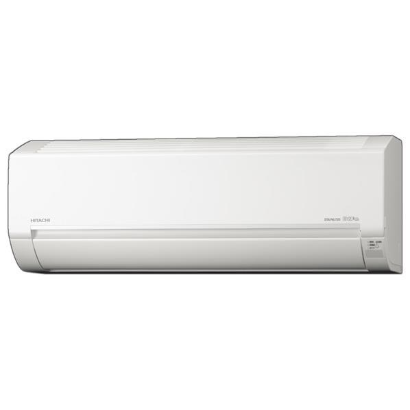 【標準設置工事費込み】日立 10畳向け 冷暖房インバーターエアコン KuaL ステンレス白くまくん スターホワイト RASDM28HE6WS [RASDM28HE6WS]【RNH】