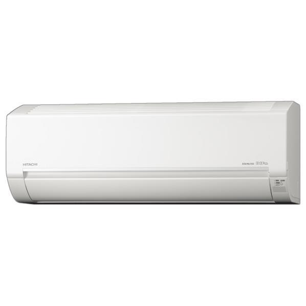 【標準設置工事費込み】日立 14畳向け 冷暖房インバーターエアコン KuaL ステンレス白くまくん スターホワイト RASDM40H2E6WS [RASDM40H2E6WS]【RNH】