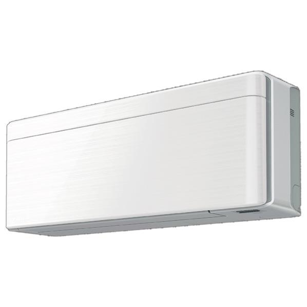 【送料無料】【標準設置工事費込み】ダイキン 8畳向け 冷暖房インバーターエアコン risora Sシリーズ ラインホワイト AN25VSS-WS [AN25VSSWS]【RNH】