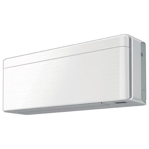 【送料無料】【標準設置工事費込み】ダイキン 23畳向け 冷暖房インバーターエアコン risora Sシリーズ ラインホワイト AN71VSP-WS [AN71VSPWS]【RNH】