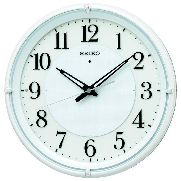 SEIKO 電波掛時計 KX233W [KX233W]