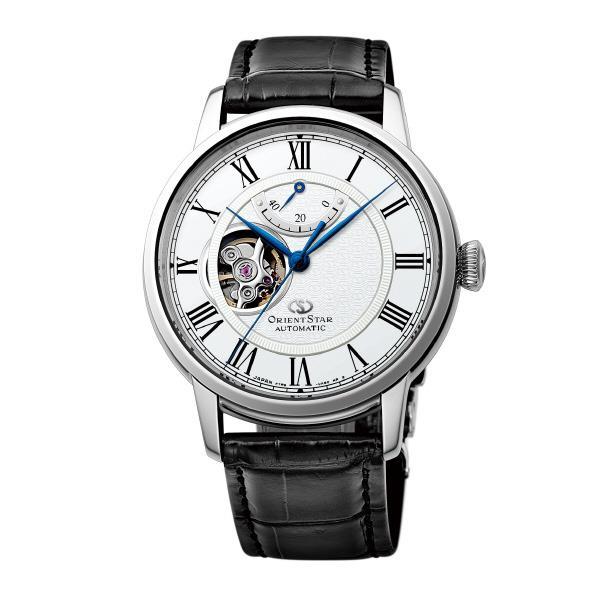 オリエント 腕時計 ORIENTSTAR SEMI SKELETON ホワイト RK-HH0001S [RKHH0001S]