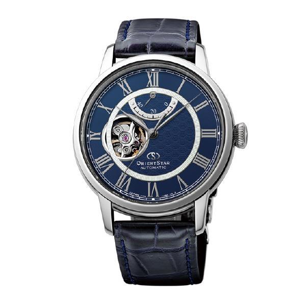 オリエント 腕時計 ORIENTSTAR SEMI SKELETON ネイビー RK-HH0002L [RKHH0002L]