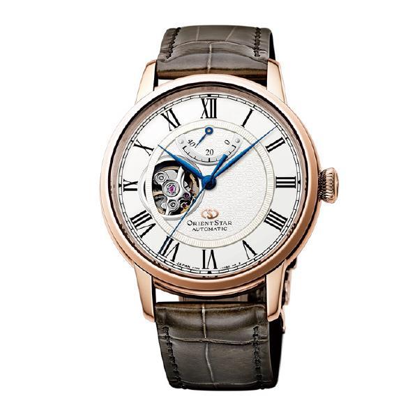 オリエント 腕時計 ORIENTSTAR SEMI SKELETON ホワイト RK-HH0003S [RKHH0003S]