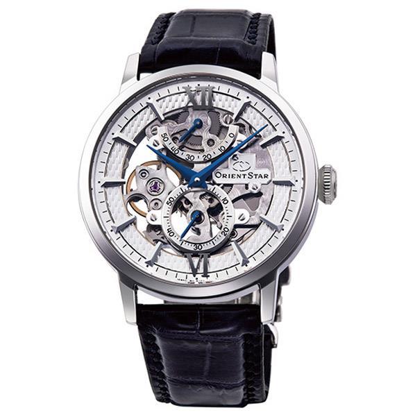 オリエント 腕時計 ORIENTSTAR SKELETON シルバー RK-DX0001S [RKDX0001S]