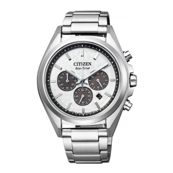 シチズン エコ・ドライブ時計 アテッサ エコ・ドライブ チタニウム ホワイト CA4390-55A [CA439055A]