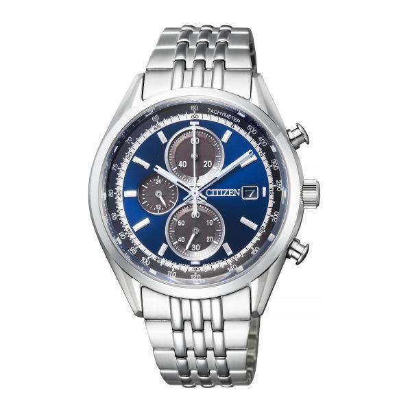 シチズン エコ・ドライブ時計 シチズンコレクション メンズ ステンレス ブルー CA0450-57L [CA045057L]