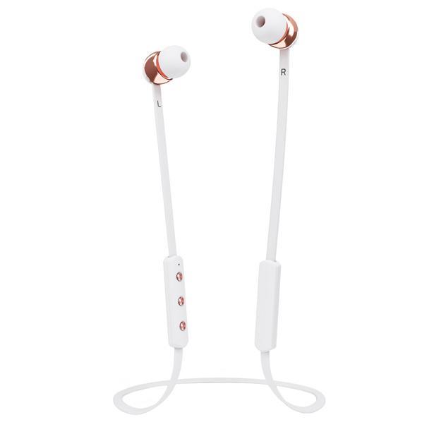 【送料無料】Sudio Bluetoothイヤフォン ホワイト SD-0014X [SD0014X]