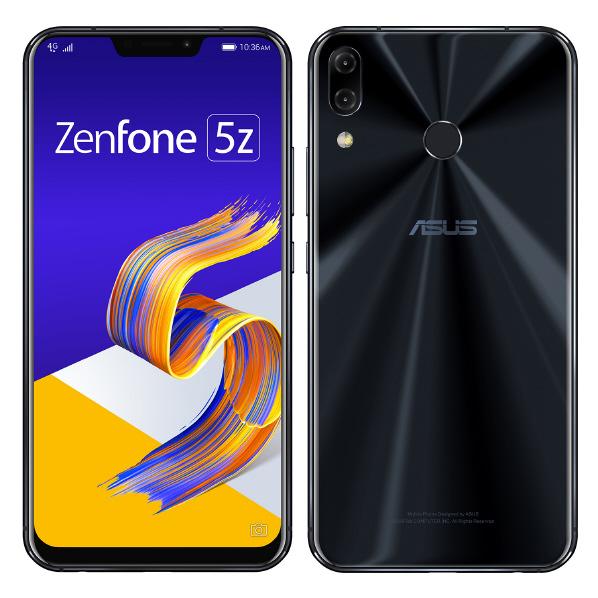 ASUS SIMフリースマートフォン Zenfone 5Z シャイニーブラック ZS620KL-BK128S6 [ZS620KLBK128S6]