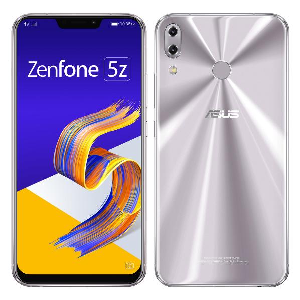 ASUS SIMフリースマートフォン Zenfone 5Z スペースシルバー ZS620KL-SL128S6 [ZS620KLSL128S6]
