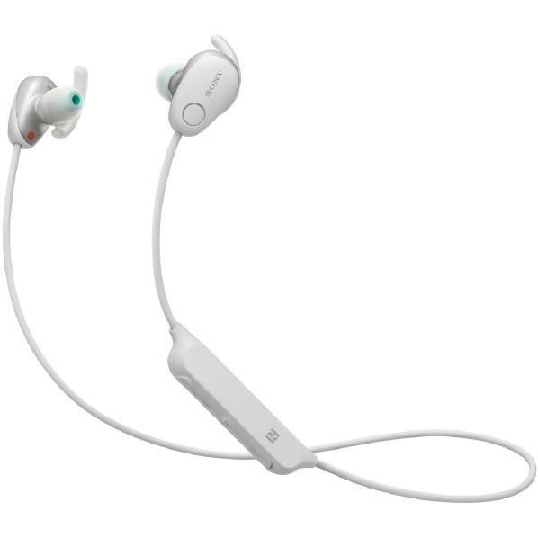 【送料無料】SONY ワイヤレスヘッドフォン ホワイト WI-SP600N W [WISP600NW]【RNH】