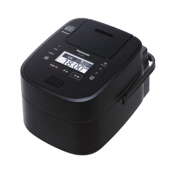 パナソニック スチーム&可変圧力IH炊飯ジャー(5.5合炊き) Wおどり炊き ブラック SR-VSX108-K [SRVSX108K]【RNH】