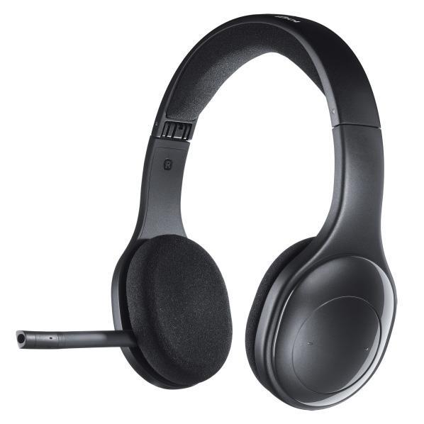 ロジクール ワイヤレスヘッドセット ブラック H800R [H800R]