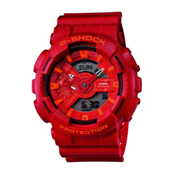 カシオ 腕時計 G-SHOCK レッド G-SHOCK [GA110AC4AJF] GA-110AC-4AJF カシオ [GA110AC4AJF], Smapho-Freak:711842a0 --- sunward.msk.ru