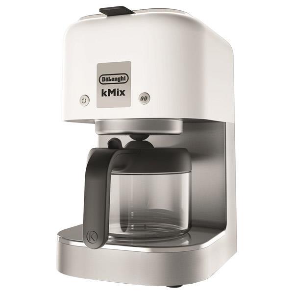 デロンギ ドリップコーヒーメーカー ケーミックス クールホワイト COX750J-WH [COX750JWH]【RNH】