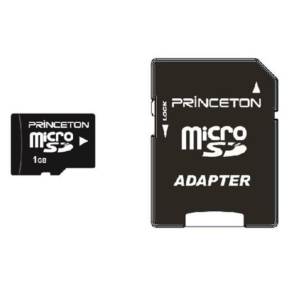 フィーチャーフォンに最適な小容量microSDメモリーカード。 プリンストン microSDメモリーカード(1GB) PMSD-1G [PMSD1G]