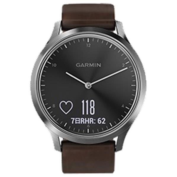 GARMIN 腕時計 vivomove HR ブラックシルバー 010-01850-74 [0100185074]