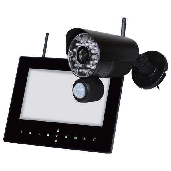 日本セキュリティー 屋外ワイヤレスカメラセット らくらくeye cam NS-9015WMS [NS9015WMS]