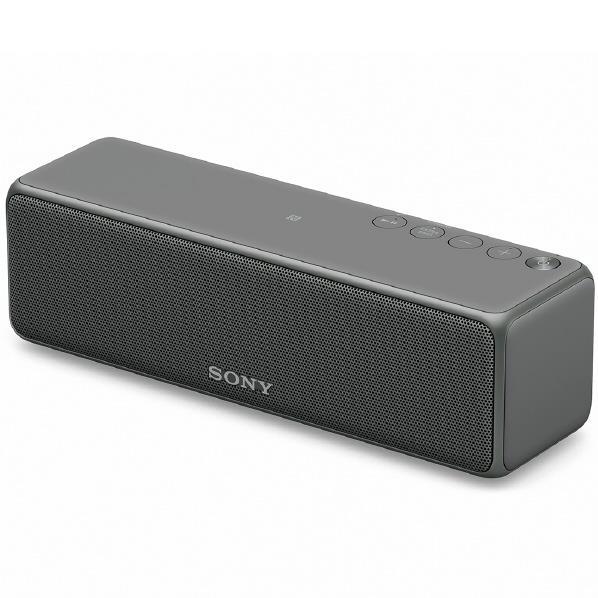 SONY ワイヤレスポータブルスピーカー グレイッシュブラック SRS-HG10 B [SRSHG10B]【RNH】