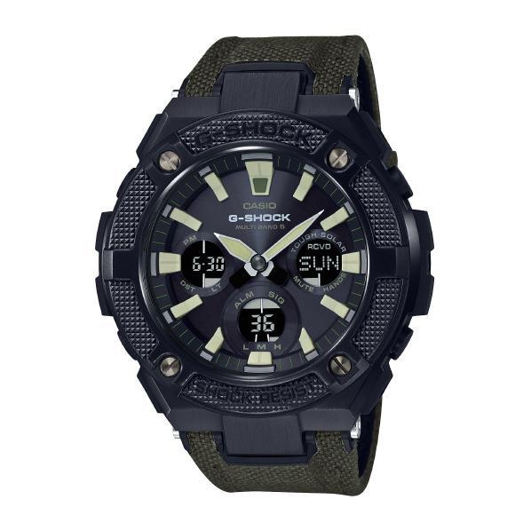 カシオ ソーラー電波腕時計 G-SHOCK G-STEEL GST-W130BC-1A3JF [GSTW130BC1A3JF]