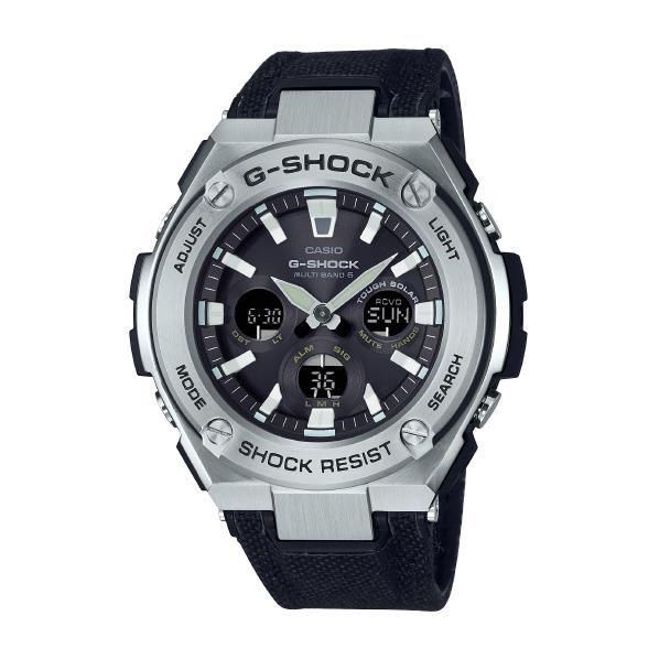 カシオ ソーラー電波腕時計 G-SHOCK G-STEEL GST-W330C-1AJF [GSTW330C1AJF]