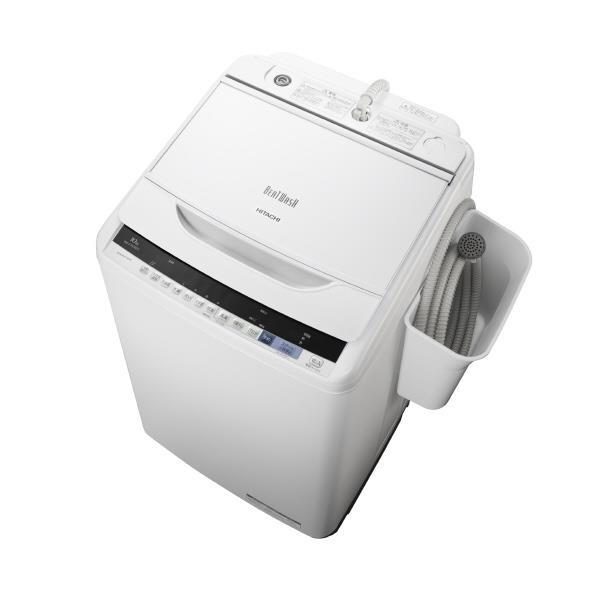 【送料無料】日立 10.0kg全自動洗濯機 オリジナル ホワイト BW-V100BE5 W [BWV100BE5W]【RNH】