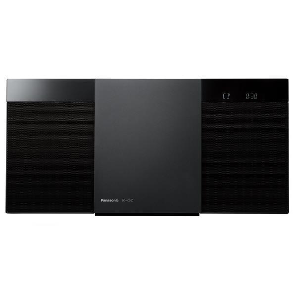 パナソニック コンパクトステレオシステム ブラック SC-HC300-K [SCHC300K]【RNH】