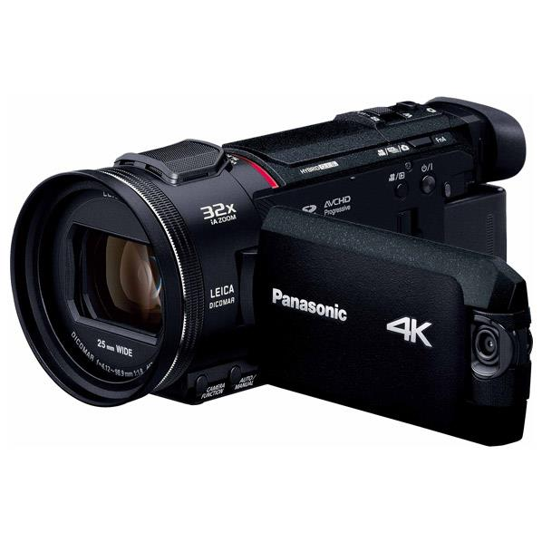 パナソニック 64GB内蔵メモリー デジタル4Kビデオカメラ ブラック HC-WXF1M-K [HCWXF1MK]【RNH】