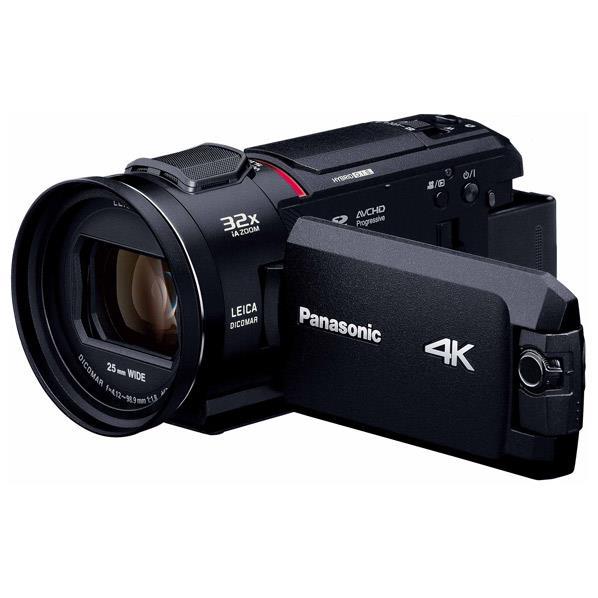 【送料無料】パナソニック 64GB内蔵メモリー デジタル4Kビデオカメラ ブラック HC-WX1M-K [HCWX1MK]【RNH】