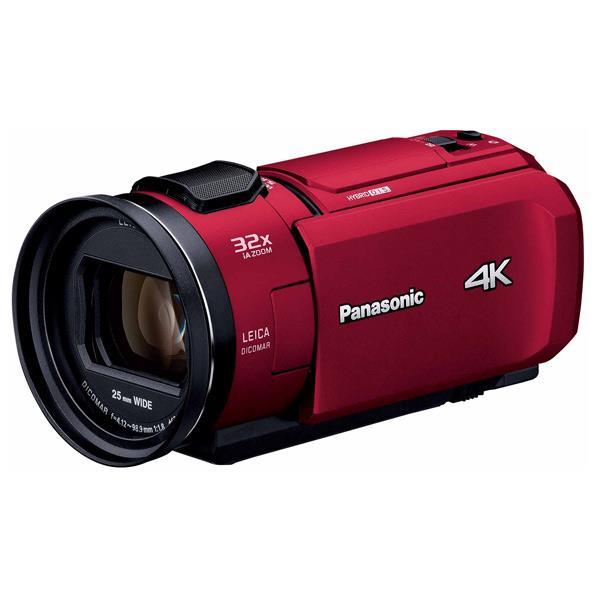 パナソニック 64GB内蔵メモリー デジタル4Kビデオカメラ レッド HC-VX1M-R [HCVX1MR]【RNH】